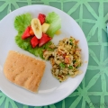 Salt fish plate