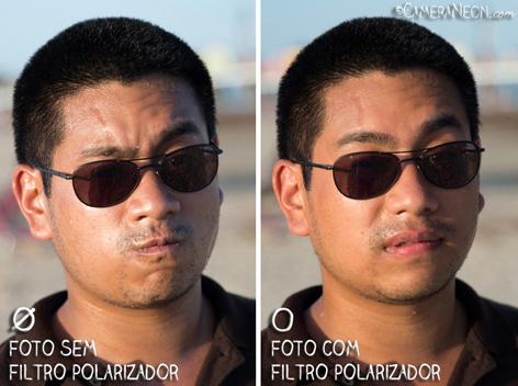 Filtro polarizador; foto; fotografia; Retrato