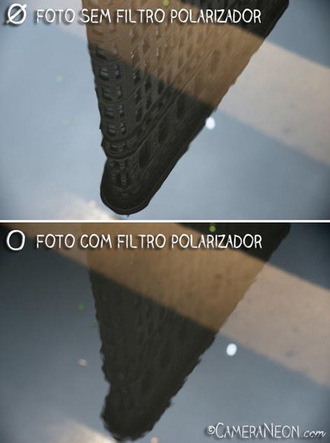 Filtro polarizador; câmera; foto; fotografia; como tirar fotos; acessórios para fotografia; New York, Flatiron; Reflexo; Arranha céu; Manhattan