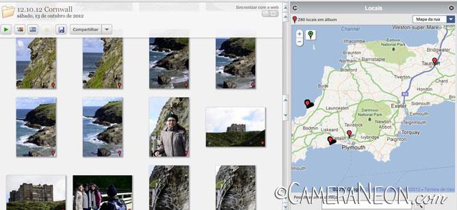 GPS; Picasa; georreferenciamento; fotos; fotografia