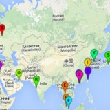 Mapa de Panoramas Urbanos