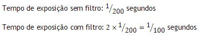 câmera; fotografia; acessórios para fotografia; fator de filtro; compensação de exposição; o que é; calcular; tutorial; dicas de fotografia; filtro; filtros;