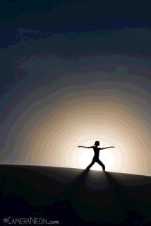 Yoga by the sun