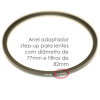 Anel adaptador step-up e step-down – Fotografia