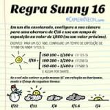 Regra Sunny 16: Exposição + Fotometria